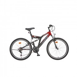 ΠΟΔΗΛΑΤΟ LEADER CHICAGO 26'' FULL SUSPENSION SHIMANO 18 ΤΑΧΥΤΗΤΕΣ